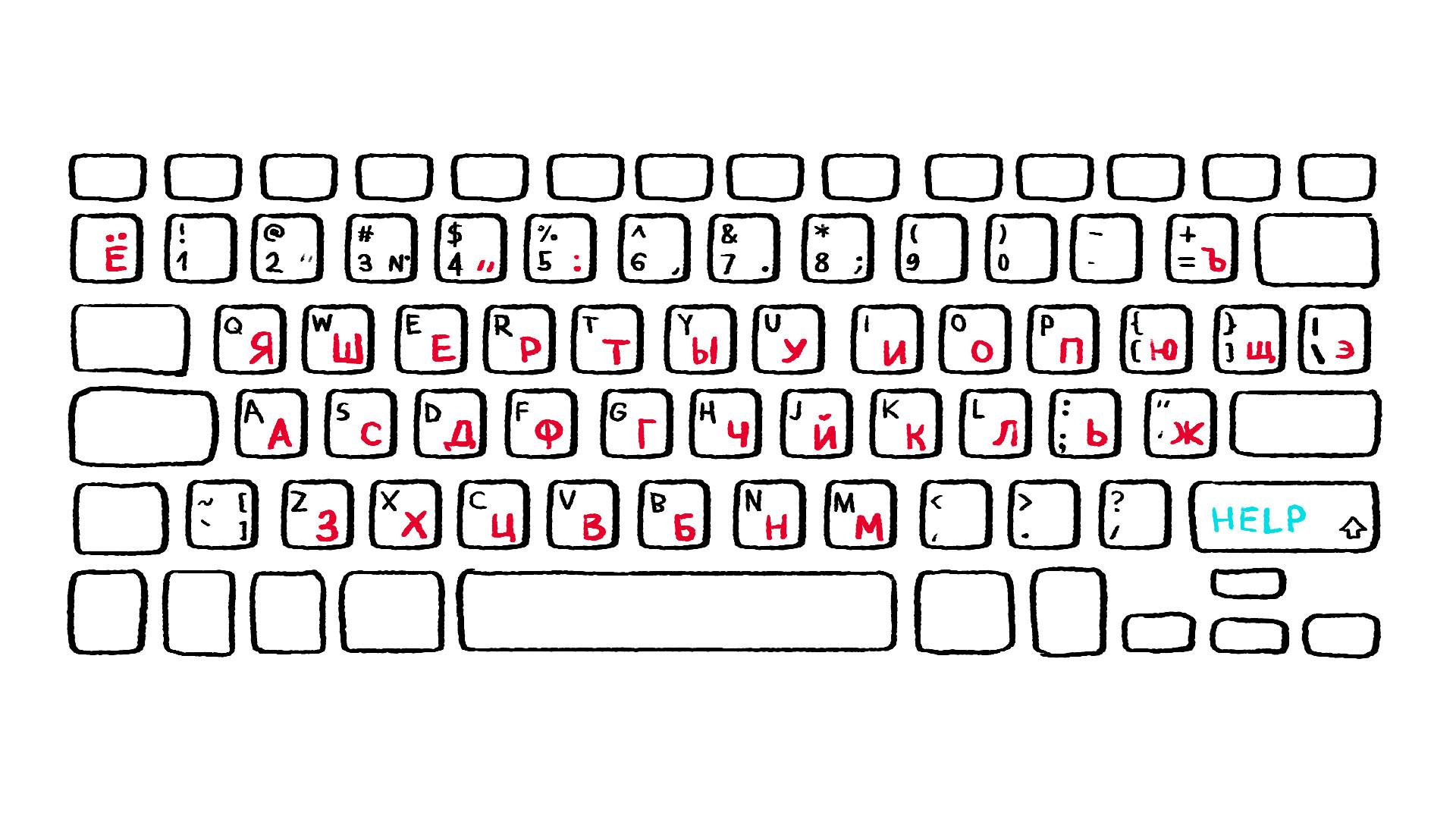 Keyboard RUSSIAN
