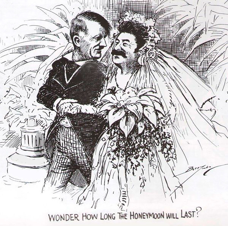 """2. """"¿Cuánto durara la luna de miel?"""". Reflexión occidental sobre el Pacto Mólotov-Ribbentrop."""