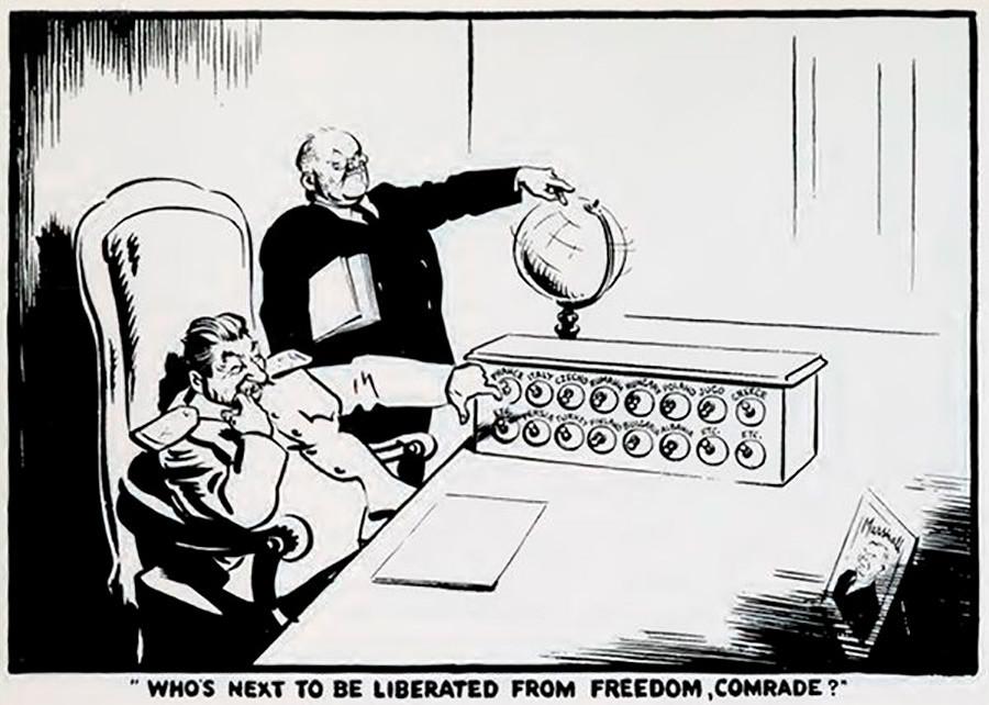 """15. """"¿Quién será el próximo en ser liberado de su libertada, camarada?""""."""