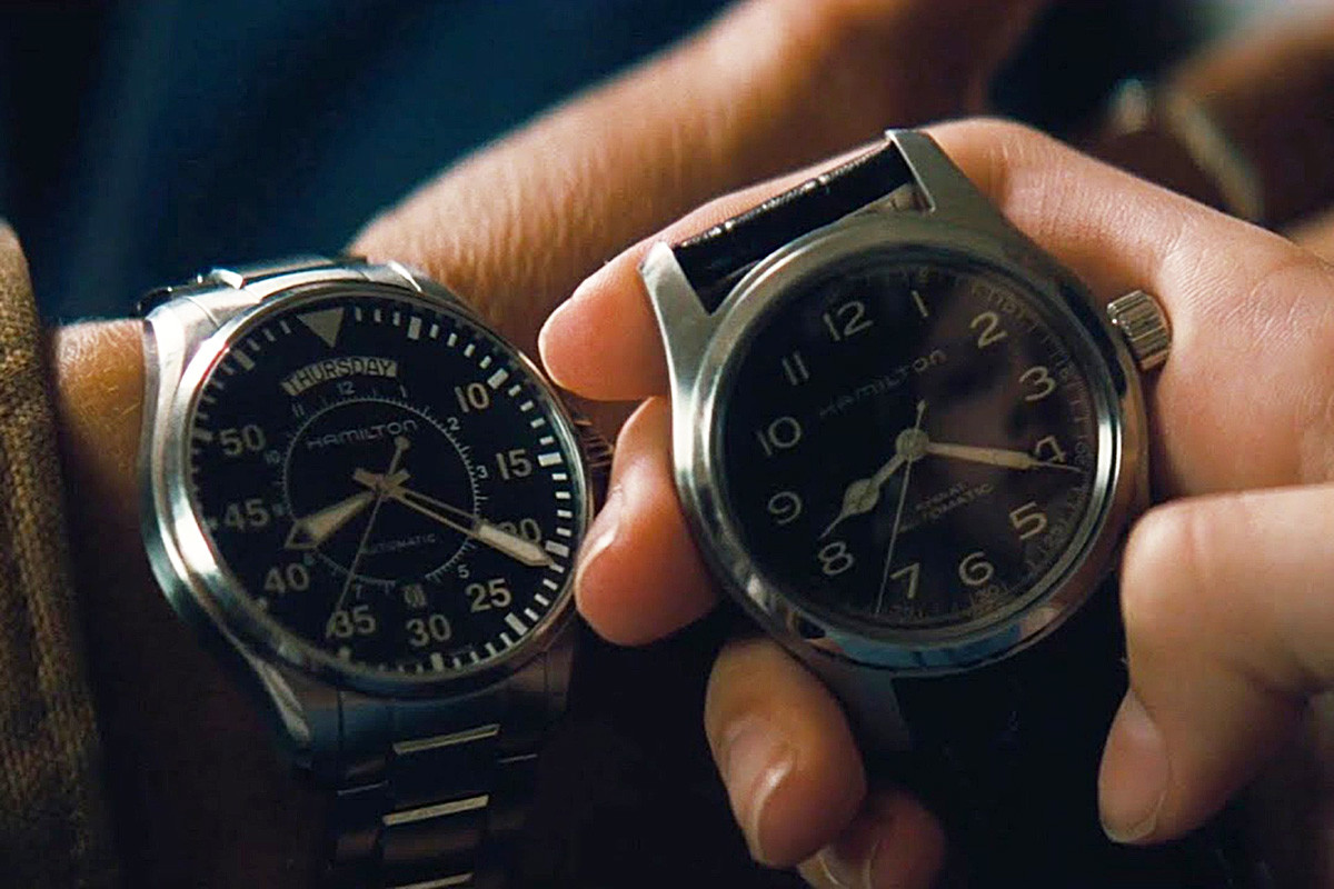 Hamilton: s takšno uro je Matthew McConaughey usklajeval čas v Medzvezdju (Interstellar), a v resnici ta znamka nikoli ni bila v vesolju