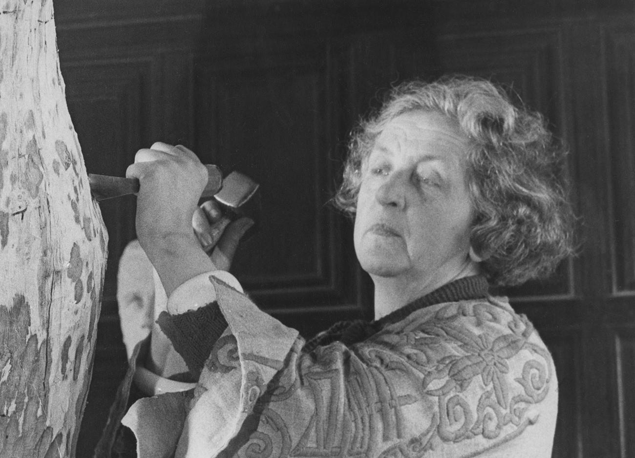 Clare Sheridan en 1951