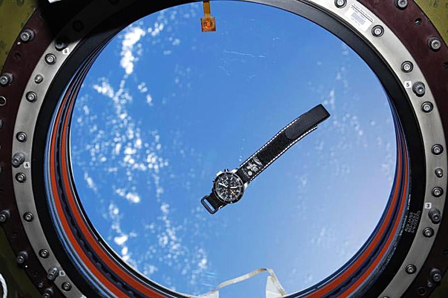 Sat Fortis na ISS-u