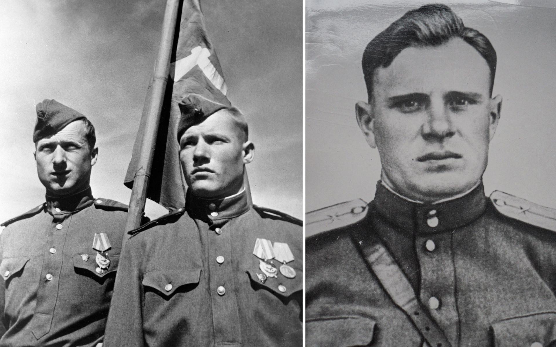 Meliton Kantaria, Mikhail Yegorov, Aleksej Berest