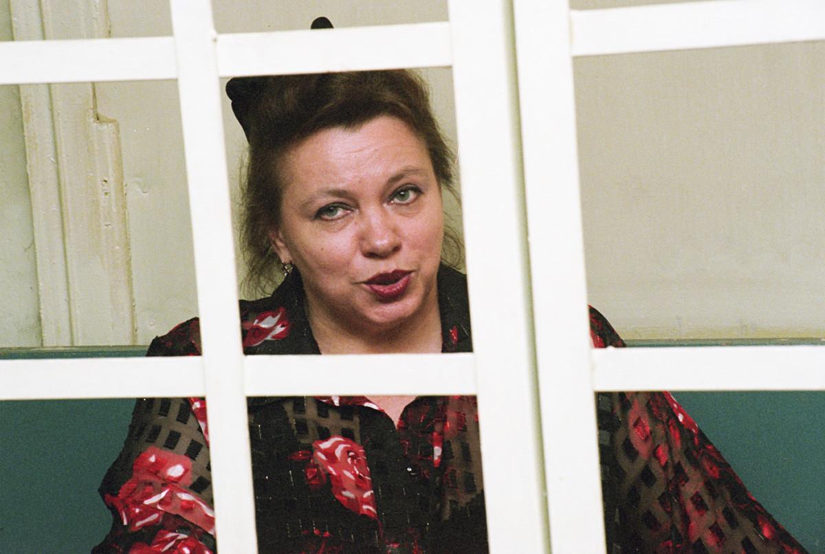Валентина Соловјова у суду