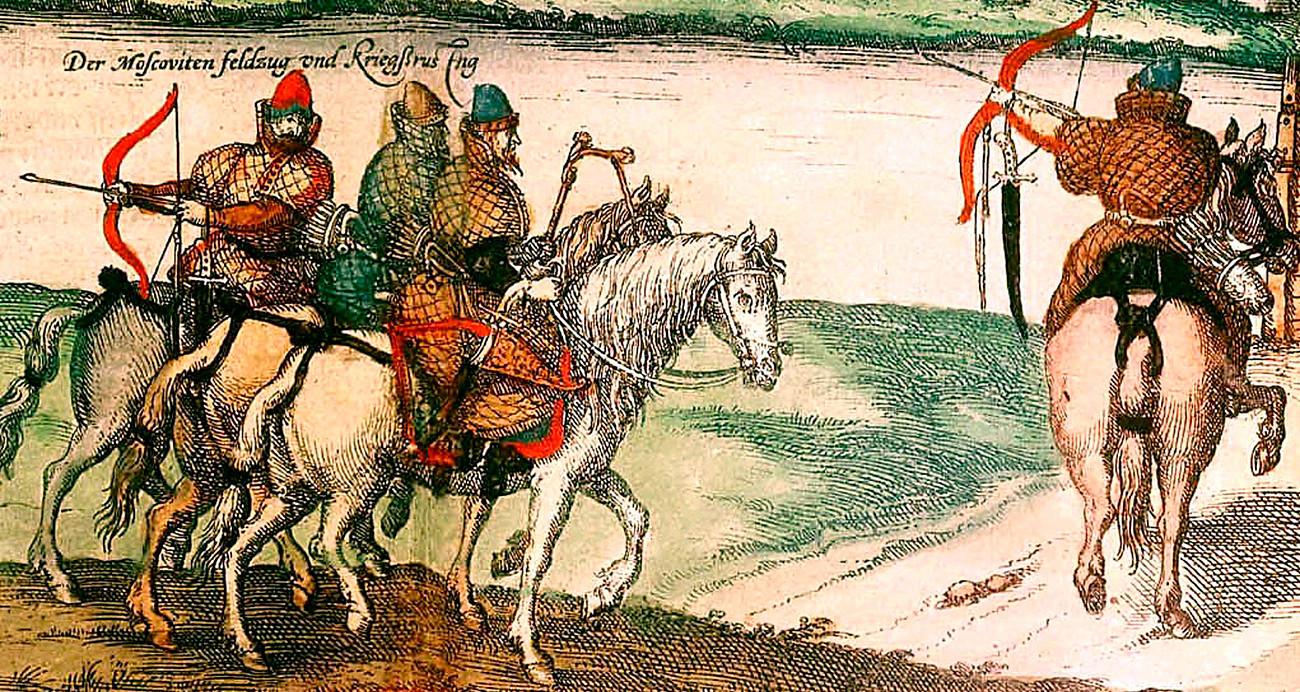 Ruski lokostrelci na konjih