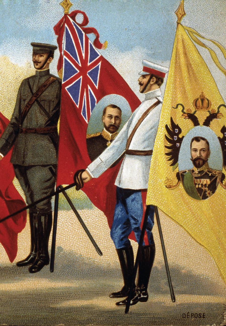Савезничке заставе у Првом светском рату.