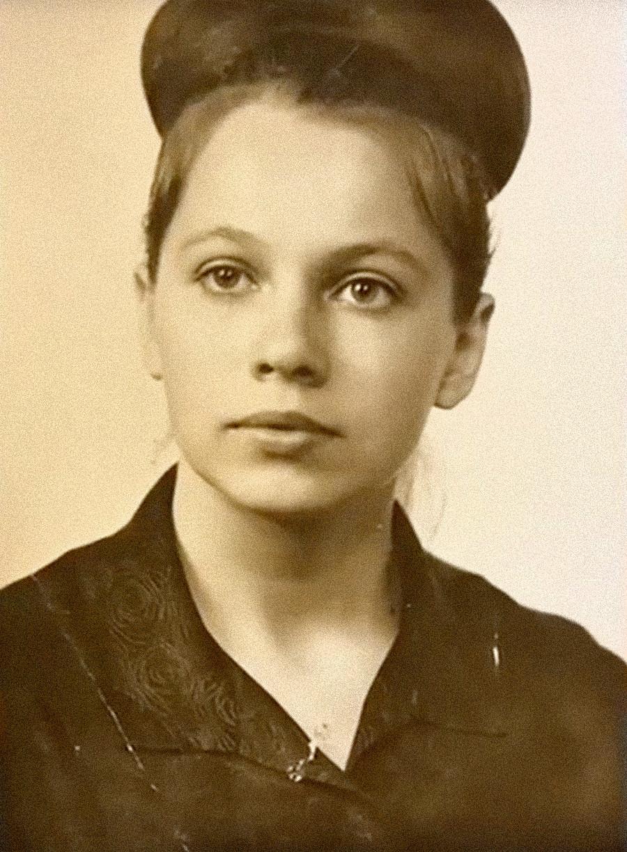 Valentina Solovjova u mladosti