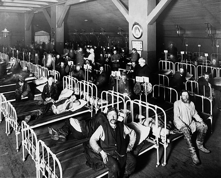 労働者のための宿舎「市営禁酒促進会館」、1909年