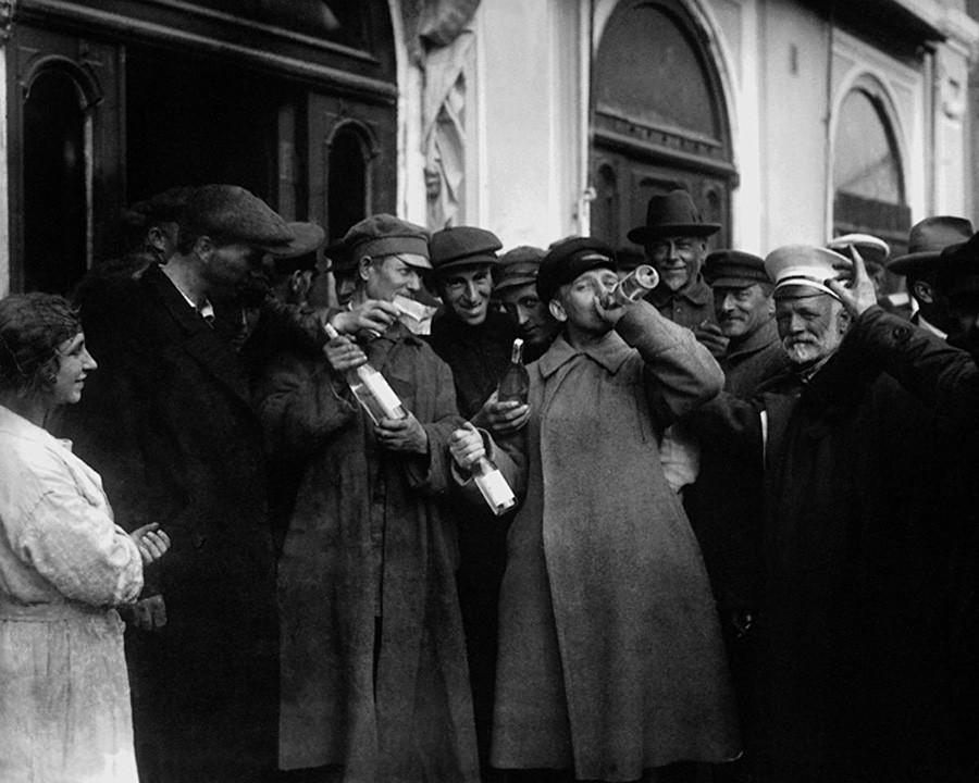 「禁酒法の撤廃」、1920年