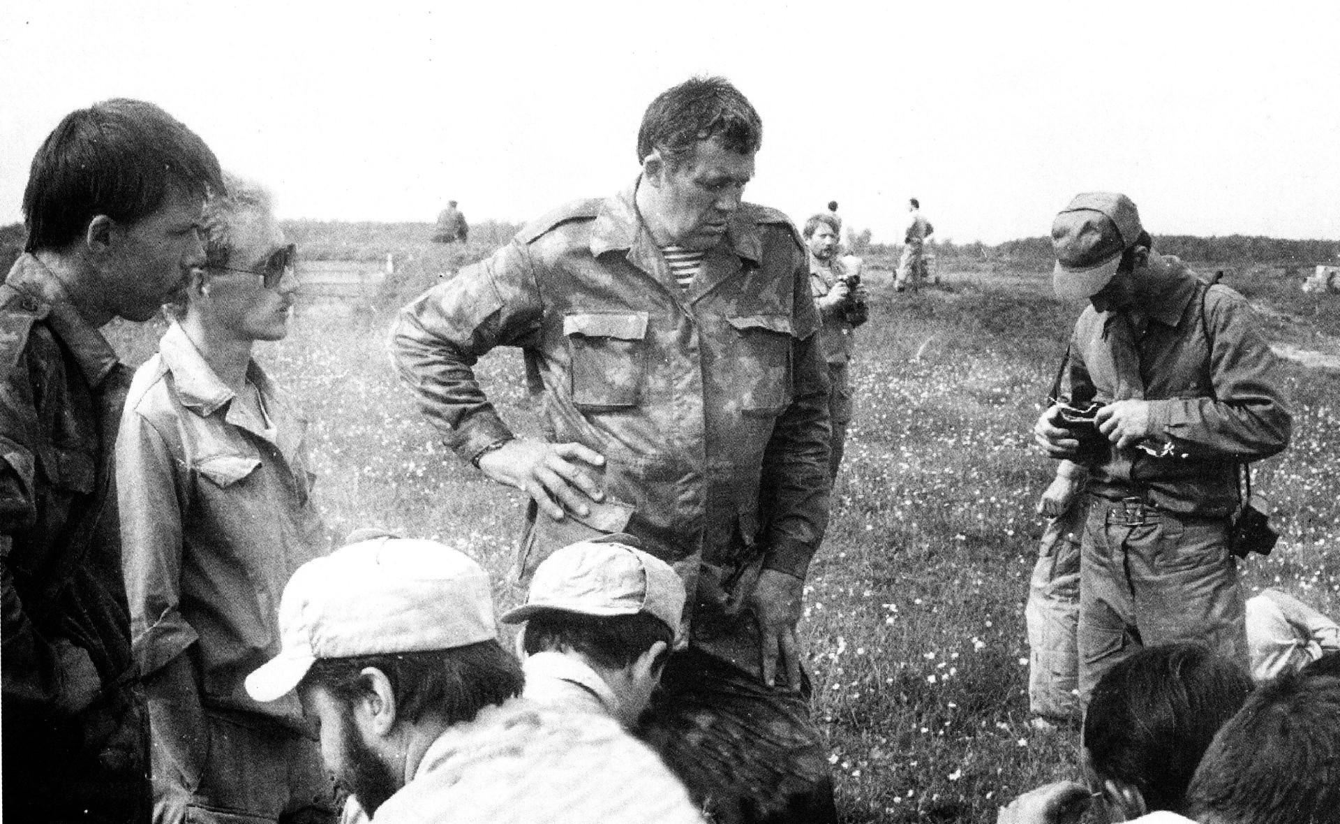 Sergej Golov u sredini