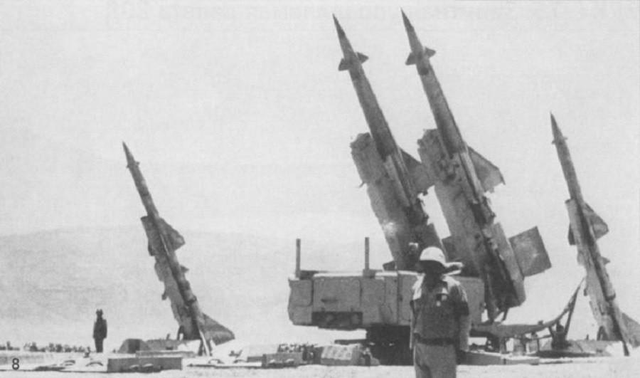 Sovjetske raketne enote v Egiptu
