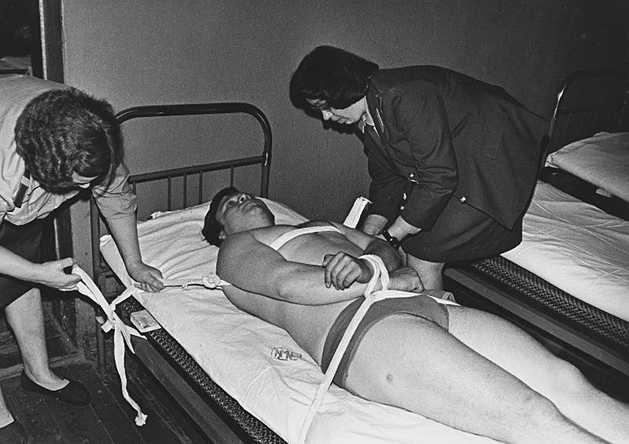 Cellule de dégrisement à Tcherepovets, 1980