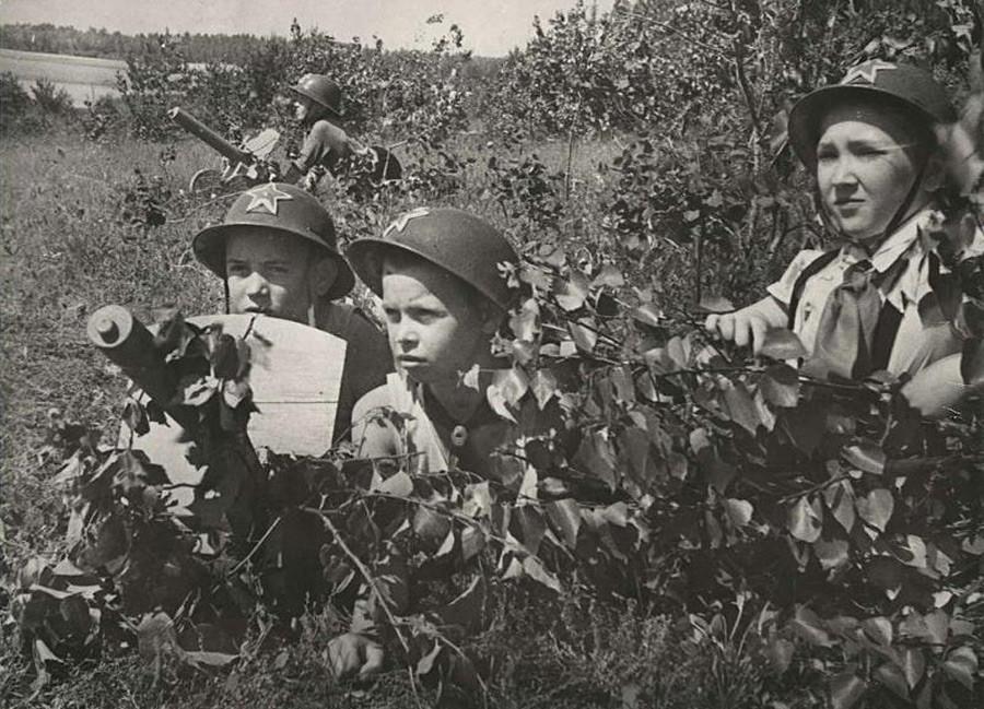 Военные игры, 1930-е