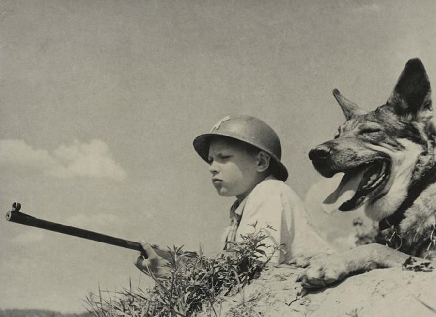 Juegos de guerra, años 30.