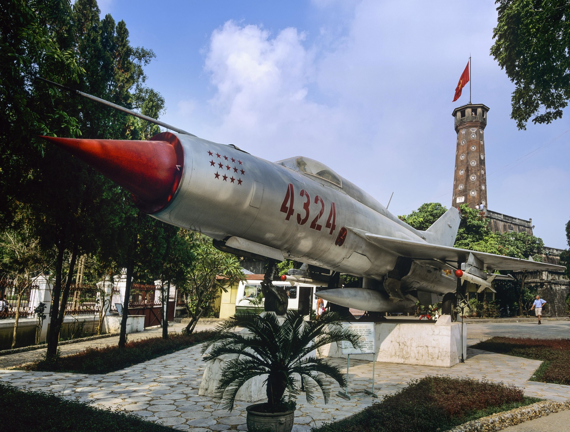 MiG-21 kot muzejski eksponat v Vietnamu, Muzej vojaške zgodovine, Hanoj