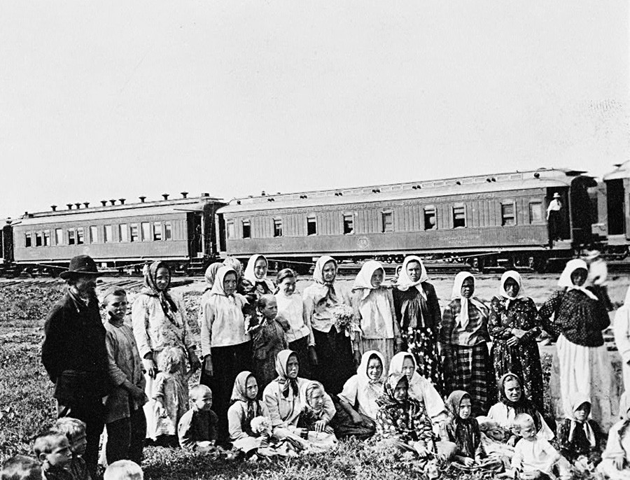 Група сибирских емиграната.