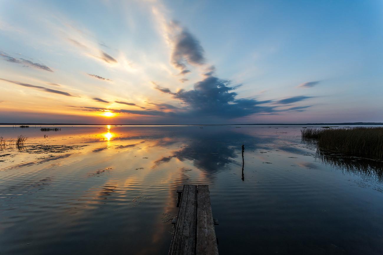 Lago Pleshchéievo.