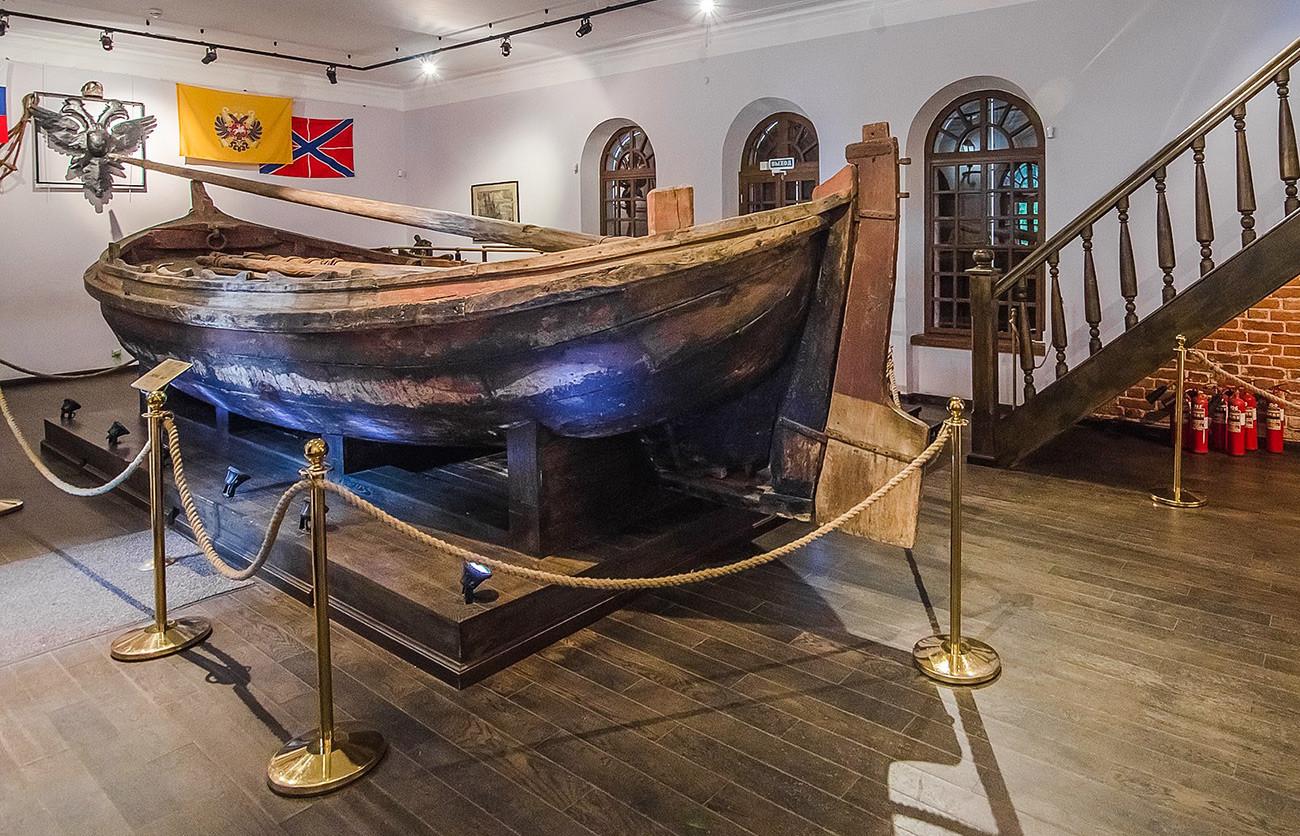 Barco Fortuna de Pedro el Grande.