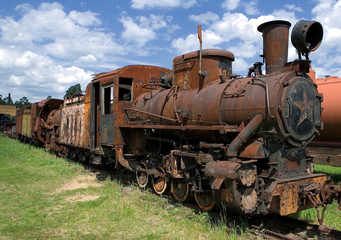 Museo del Ferrocarril de Pereslavl.