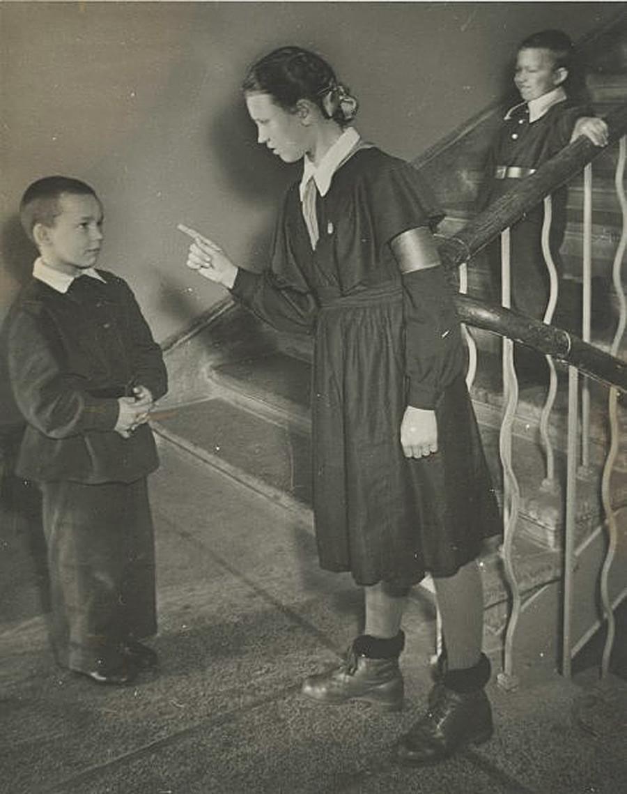 School warden, 1955–1959
