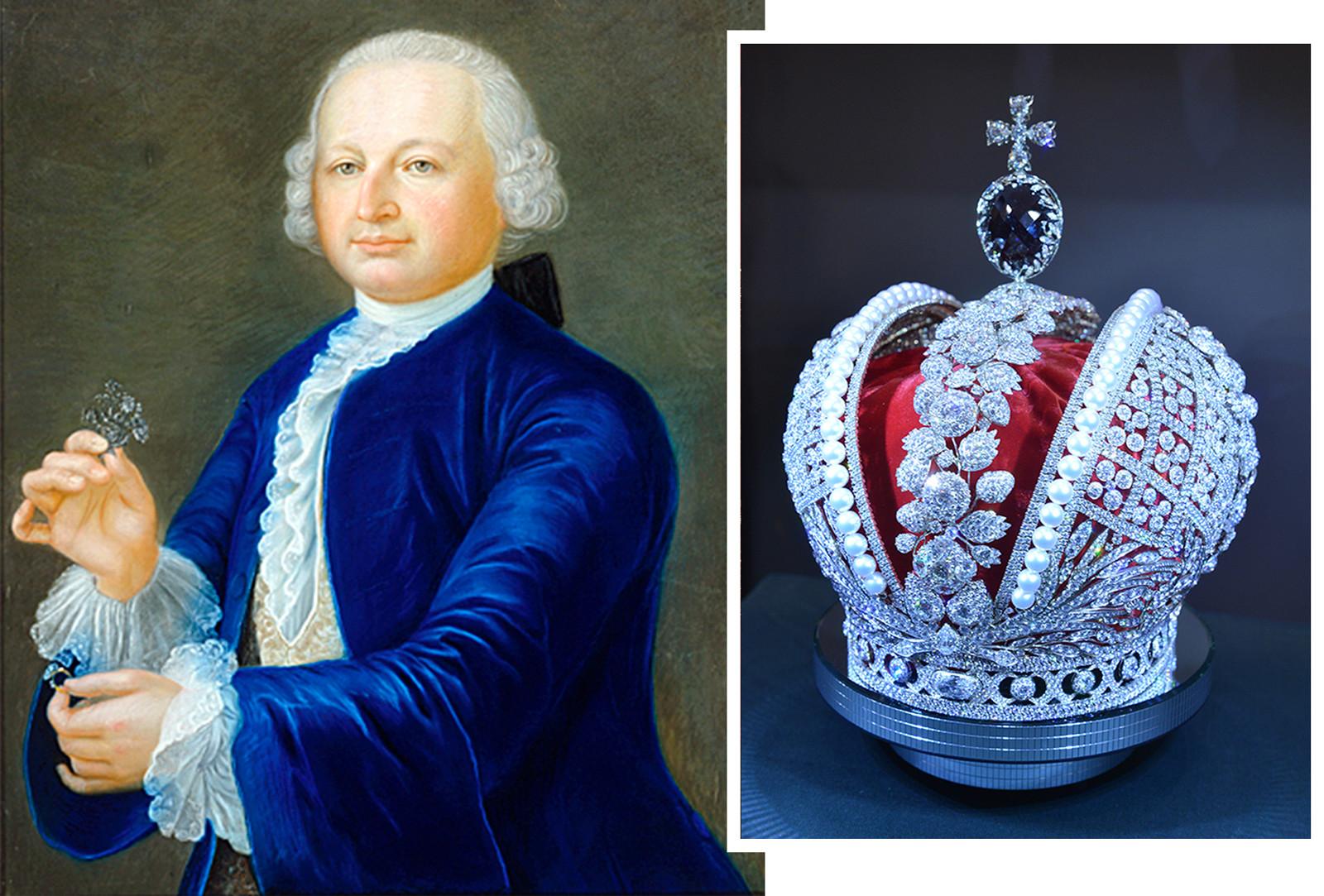 Tallador de diamantes suizo, Jeremiah Pozier.