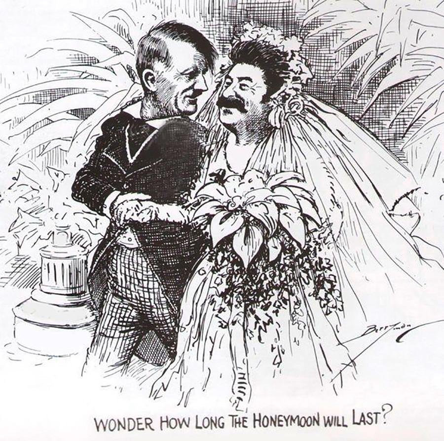 Wie die westliche Propaganda Josef Stalin verspottete