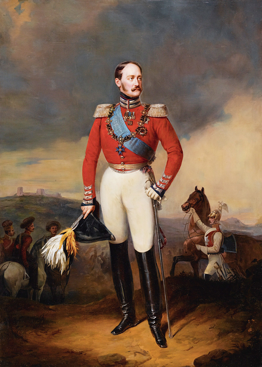 Портрет руског императора Николаја I.