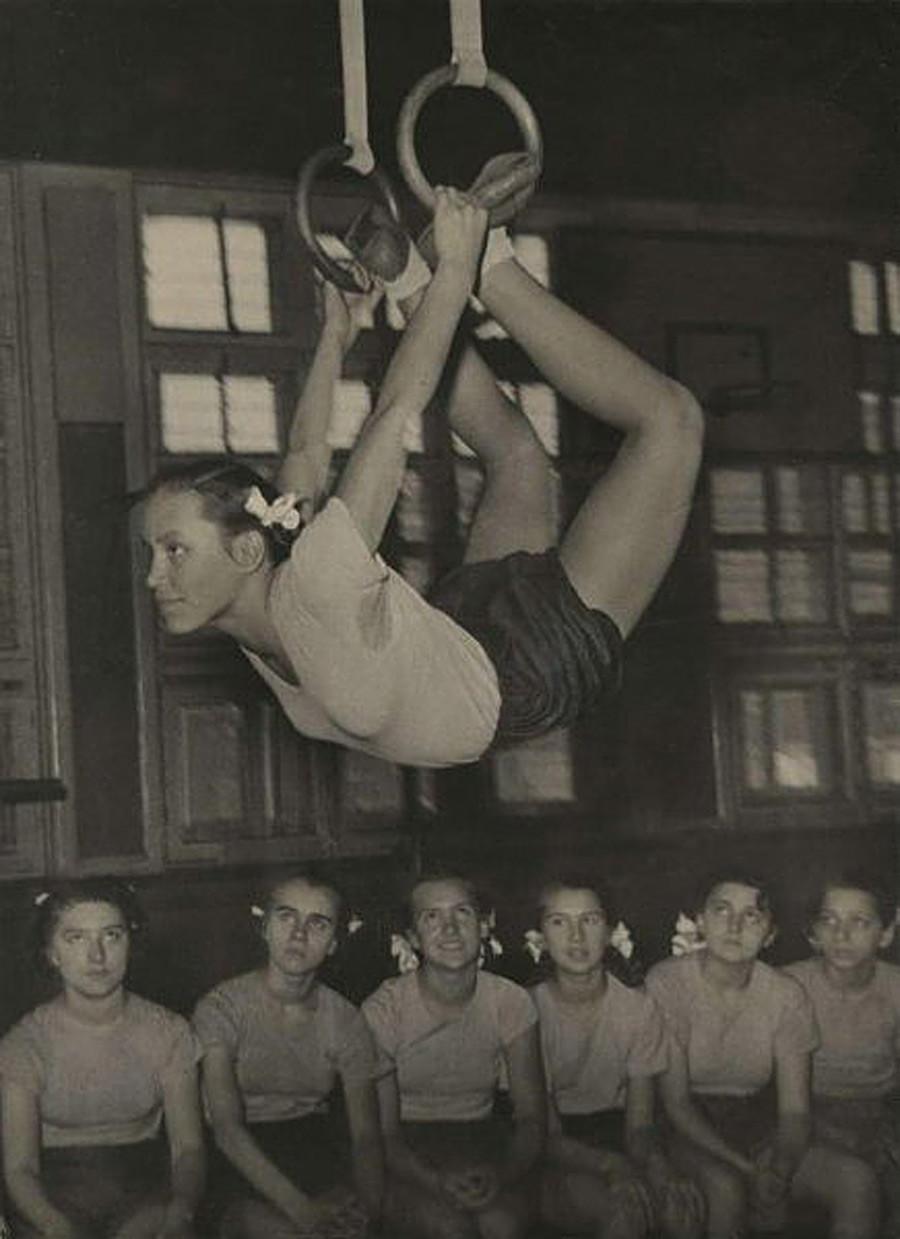 École, années 1940