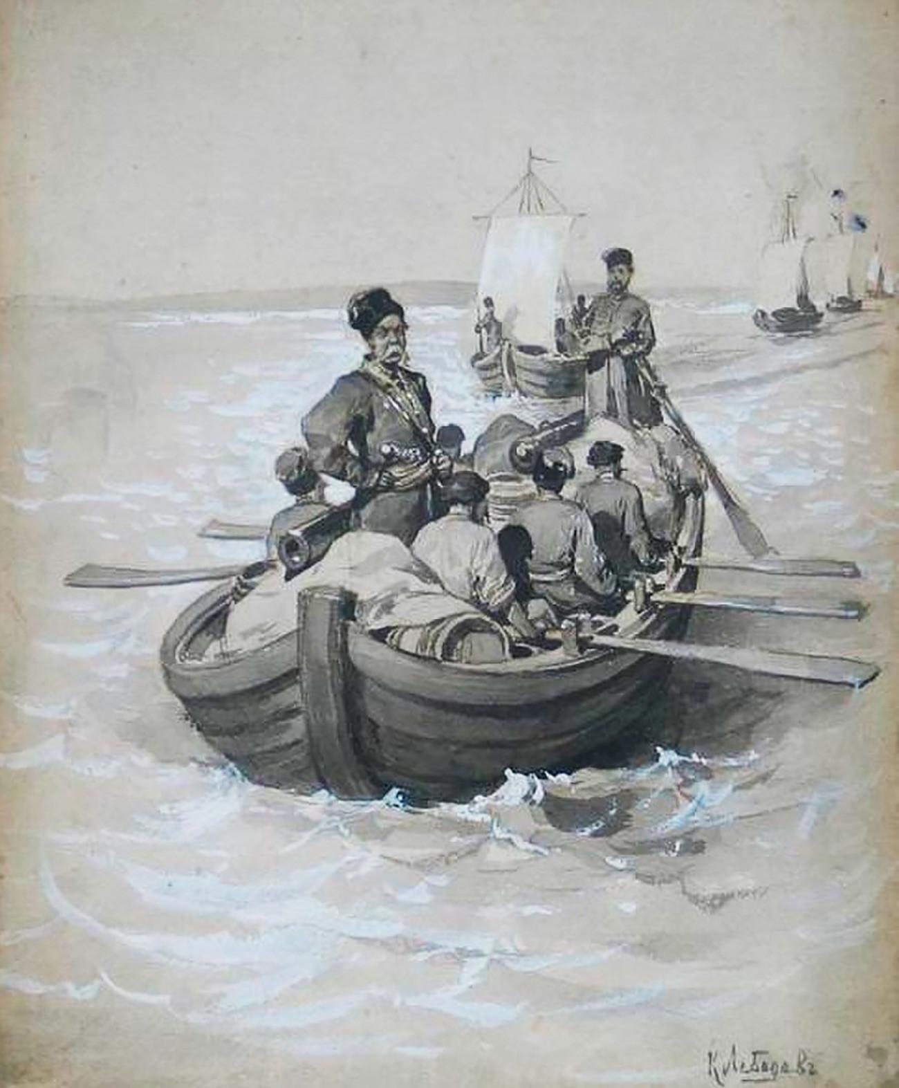 Expedición de Semión Dezhniov.