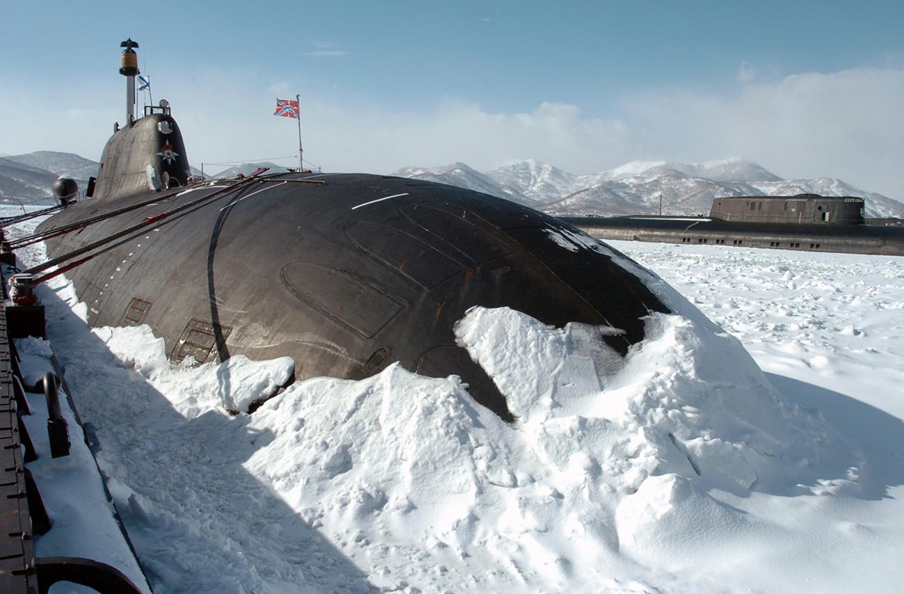 Submarino nuclear ruso.