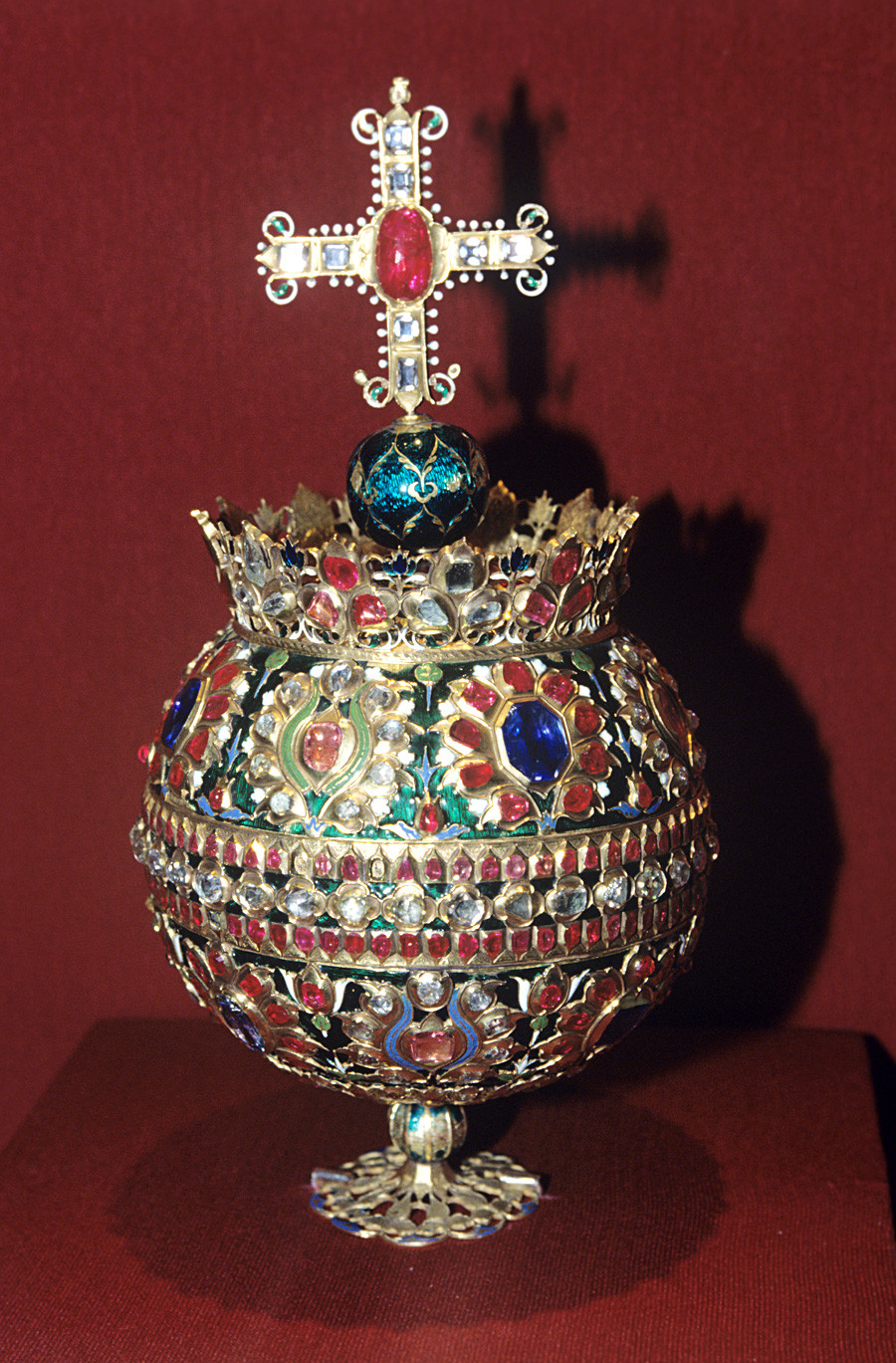 """Держава цара Алексеја Михајловича (1629-1676). Цариград, 1662. Државни културноисторијски музеј """"Московски кремљ"""""""