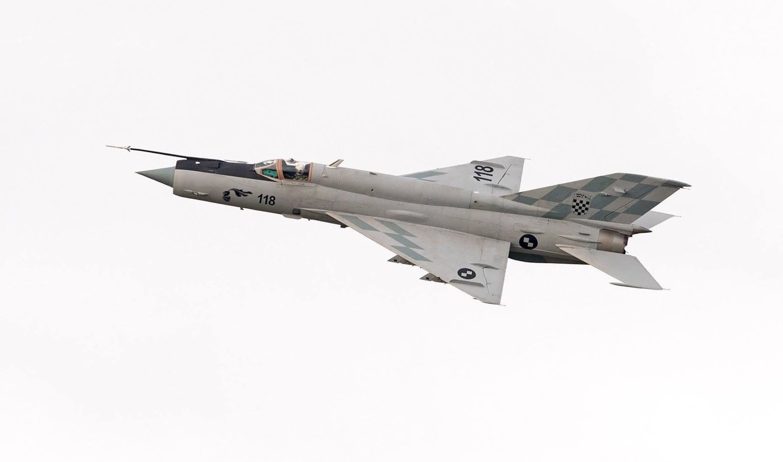Hrvaški MiG-21BisD
