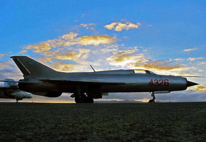 Vietnamski MiG-21, ki je med vojno sestrelil 13 sovražnih letal.