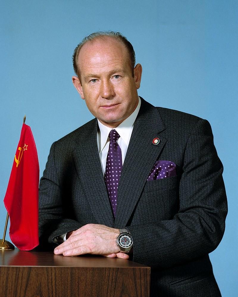 Kozmonavt Aleksej Leonov leta 1974