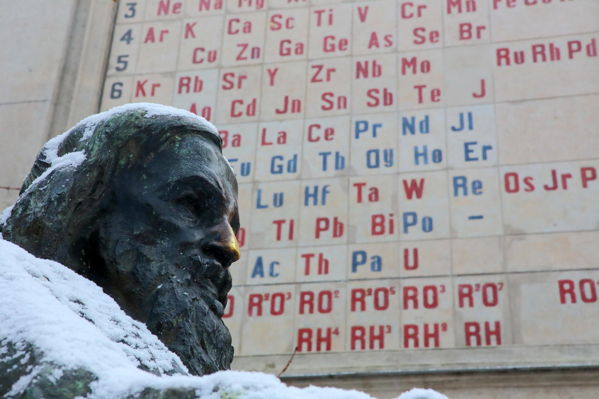 Spomenik Dmitriju Mendelejevu