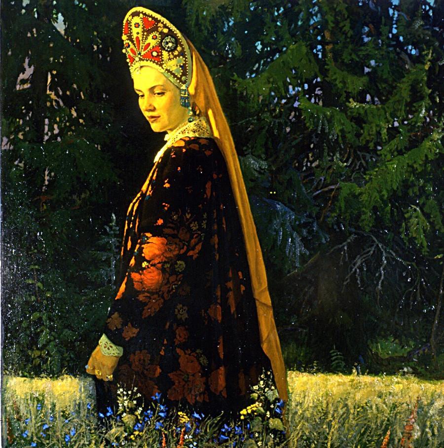 『ロシア美人』ウラジーミル・ソコヴニン、1993年