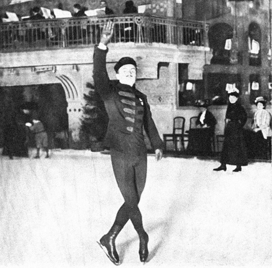Nikolai Panin-Kolomenkin, der erste Sportler aus Russland, der bei den Olympischen Spielen eine Goldmedaille gewann.