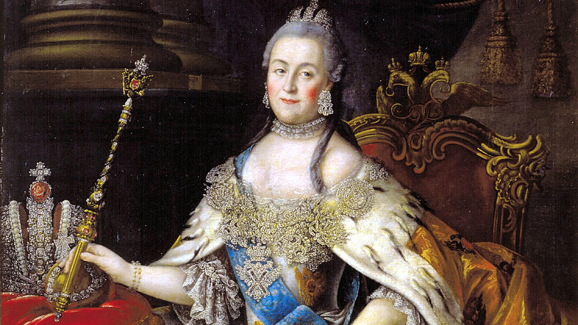 Carica Katarina Druga, Aleksej Antropov.