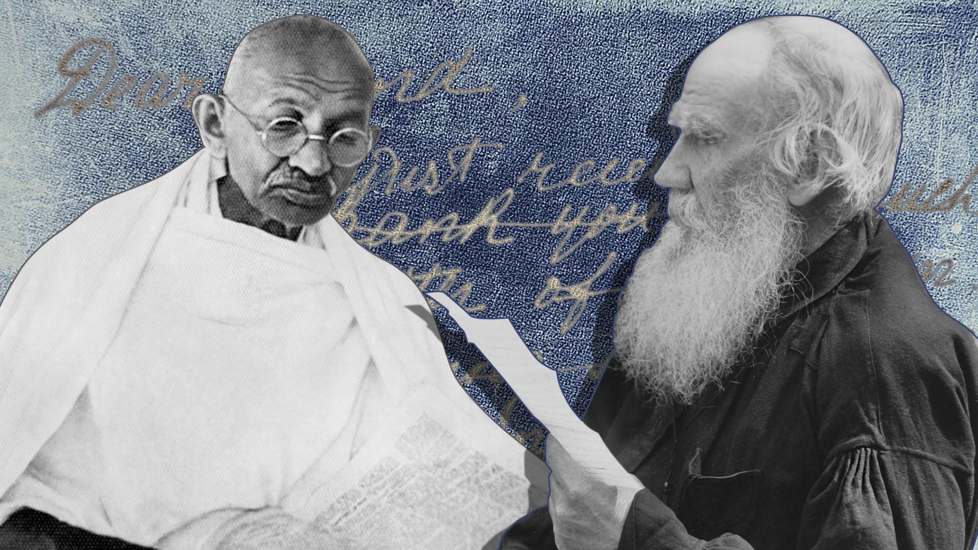 Pelajaran Yang Dipetik Mahatma Gandhi Dari Tolstoy Russia