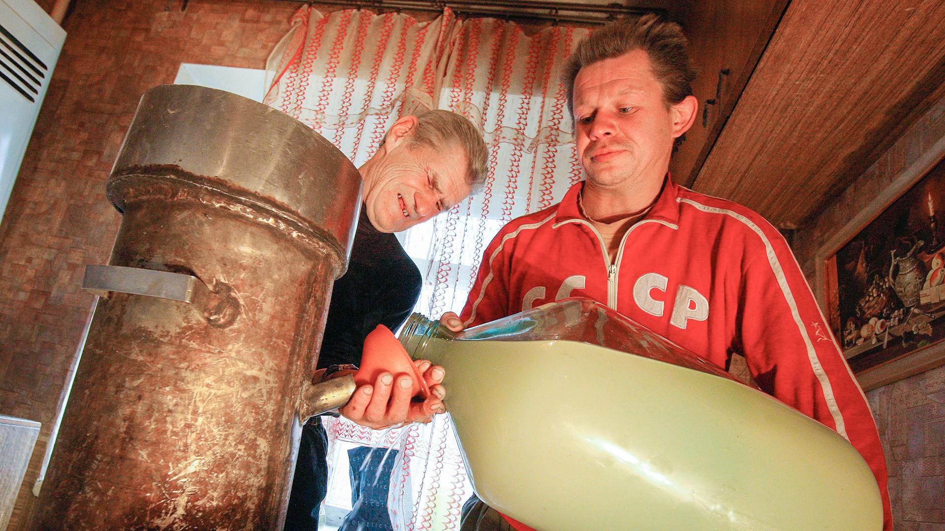 Производња самогона, Ивановска област.