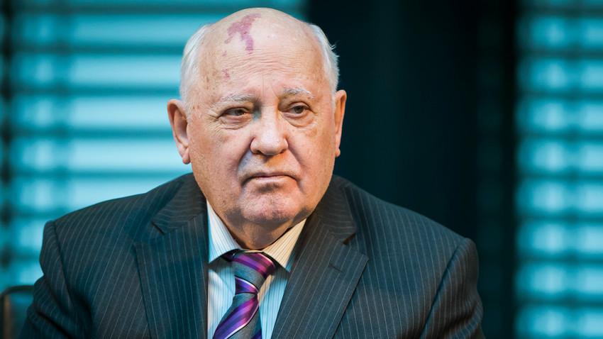 Бившият президент на Съветския съюз Михаил Горбачов