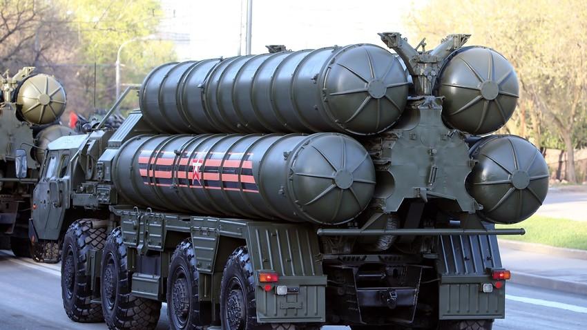 Complejo de defensa antiaérea S-400 Triumf