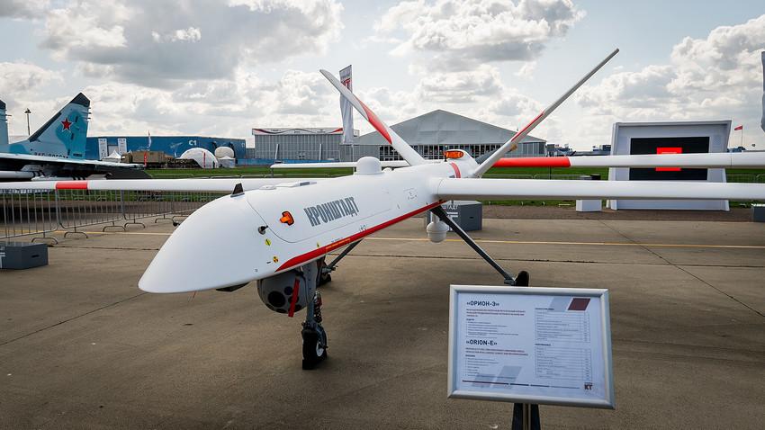 ロシア製の無人機「クロンシュタット」