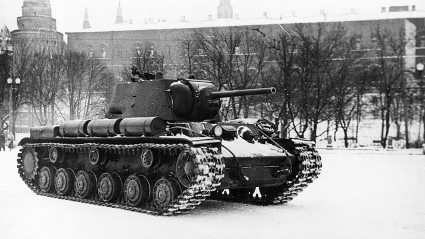 How a 'Russian monster' tank once TERRIFIED the Nazis - Russia Beyond