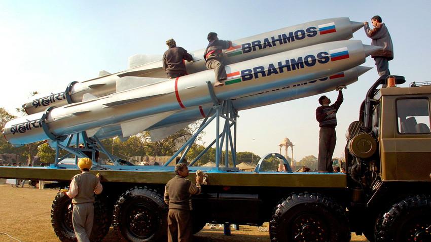 Misiles de crucero BrahMos