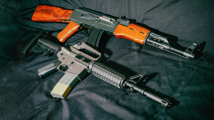 Which is better: the Russian AK-47 or the American AR-15? - Russia Beyond