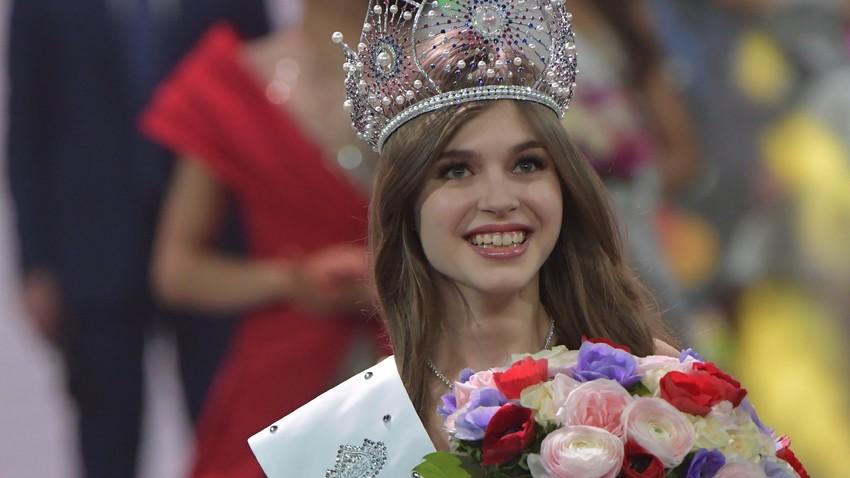 Alina Sanko, Miss Russie 2019, aurait été la représentante russe à Miss Univers cette année.