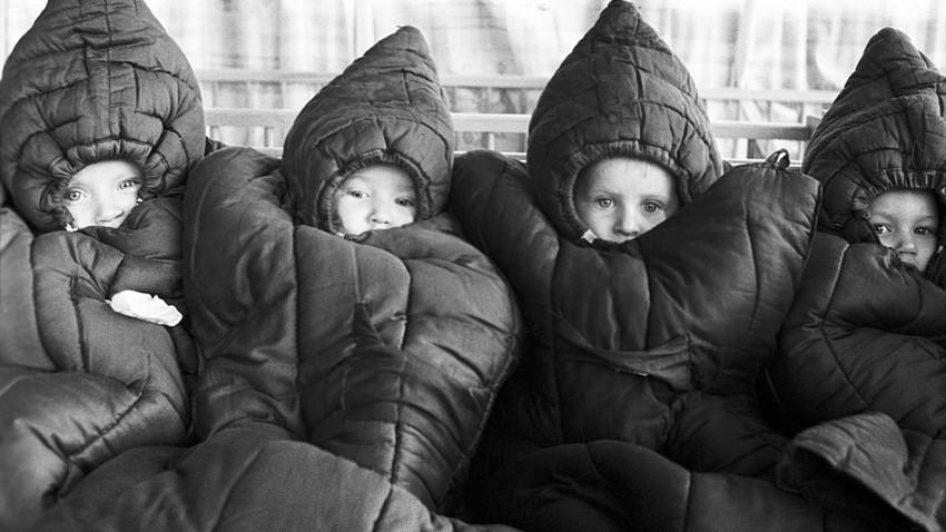 イワノヴォ毛織物工場の幼稚園、1971年