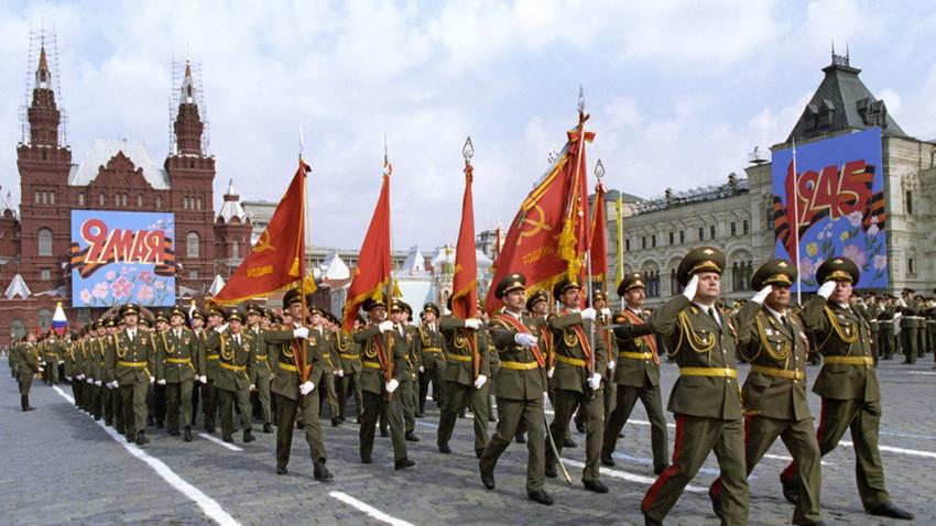 Parada ob dnevu zmage, 9. 5. 1997, Rdeči trg, Moskva