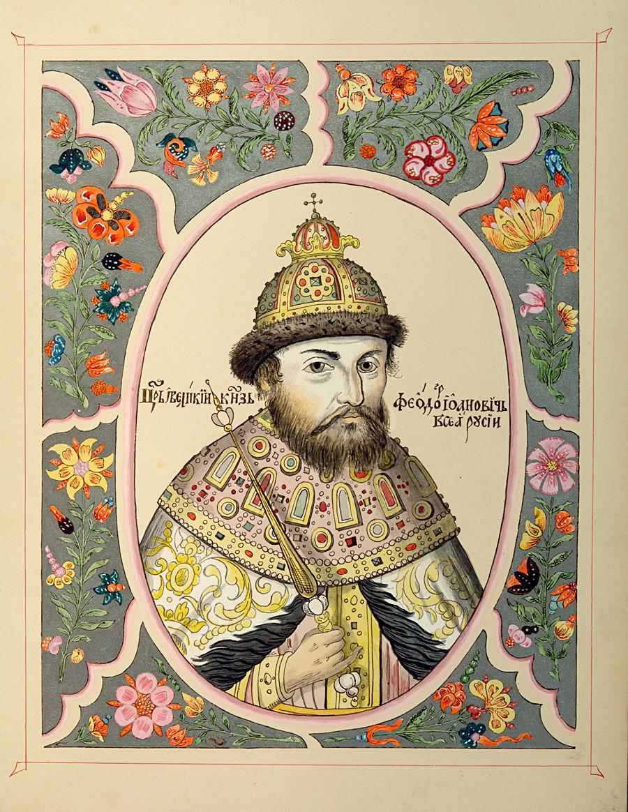 Fiódor 1° Ivânovitch (1584-1598).